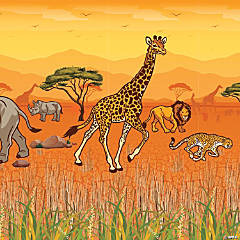 African Safari VBS Design-a-Room Pack