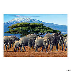 African Safari VBS Elephant Backdrop