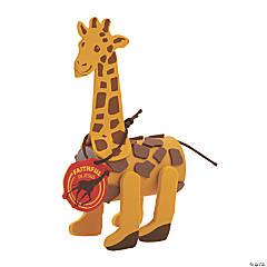 African Safari VBS Giraffe Craft Roll Craft Kit