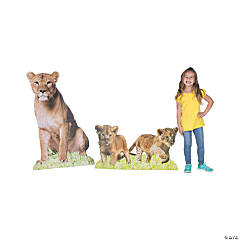 African Safari VBS Lion & Cubs Stand-Ups