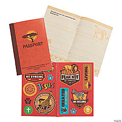 African Safari VBS Passport Sticker Books