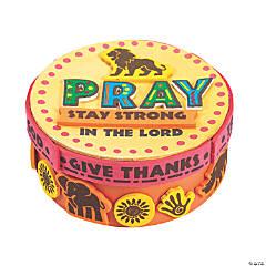 African Safari VBS Prayer Box Craft Kit