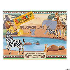 African Safari VBS Sticker Scenes