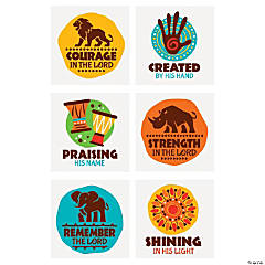 African Safari VBS Temporary Tattoos