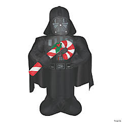 Airblown Darth Vader with Candy Cane