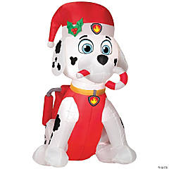 Airblown Paw Patrol™ Marshall with Candy Cane