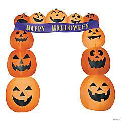 Airblown Pumpkin Archway Banner Halloween Decoration