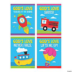All About God's Love Poster Set