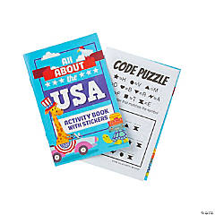 All About the USA Activity Sticker Books