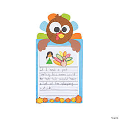 All About Turkeys Writing Prompt Craft Kit