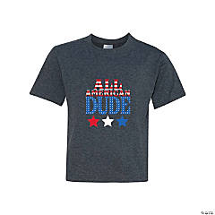 All American Dude Youth T-Shirt - Large