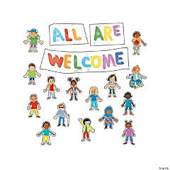 All Are Welcome Bulletin Board Set