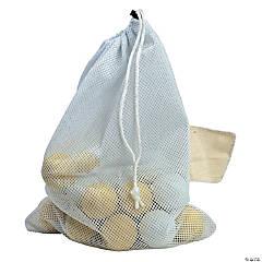 All Purpose Mesh Bag White, pack of 4