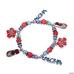 """Aloha"" Charm Bracelet Craft Kit"