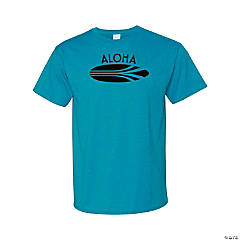 Aloha Surfboard Adult's T-Shirt - XL