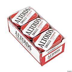 ALTOIDS Sugar Free Small Peppermint Mints, 0.37 oz, 9 Count