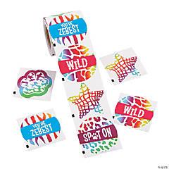 Amazing Animal Print Stickers
