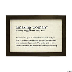 Amazing Woman™ Definition Print