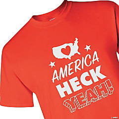 America Heck Yeah Adult's T-Shirt - Large