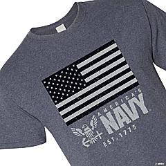 America's Navy® Flag Adult's T-Shirt - Medium