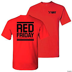 America's Navy® Red Friday Adult's T-Shirt - Small