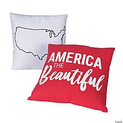 America the Beautiful Pillow Set