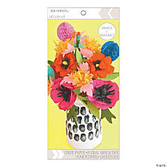 American Crafts™ K&Company™ DIY Bright Floral Bouquet Kit