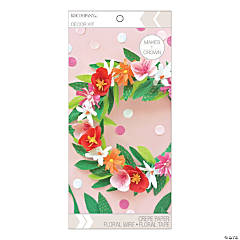 American Crafts™ K&Company™ DIY Bright Floral Crown Kit
