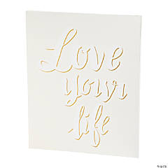 American Crafts™ Love Your Life Watercolor Panel