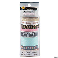 American Crafts™ Amy Tangerine® Shine On Washi Tape