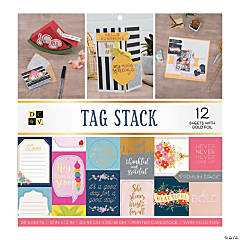 American Crafts™ Die Cuts with a View® Tag Paper Stack