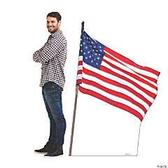 American Flag Stand-Up