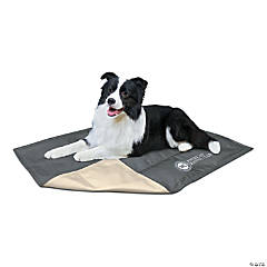 """American Kennel Club Solid Reversible Cooling Mat 26""""X20""""-Gray"""