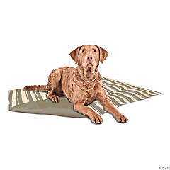 """American Kennel Club Striped Reversible Cooling Mat 20""""X16""""-Gray"""