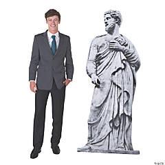 Ancient Greek Garden God Statue Stand-Up