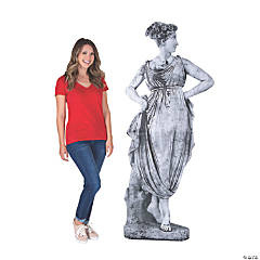 Ancient Greek Goddess Garden Statue Cardboard Stand-Up
