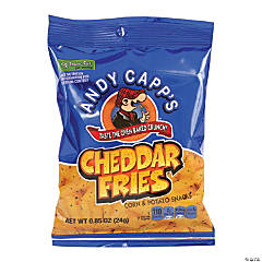 Andy Capps Cheddar Fries, 0.85 oz, 72 Count