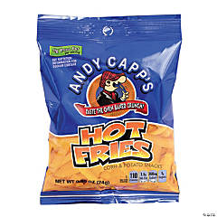 Andy Capps Hot Fries, 0.85 oz, 72 Count