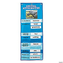 Animal Attribute Pocket Chart