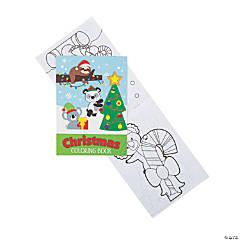 Animal Christmas Coloring Books