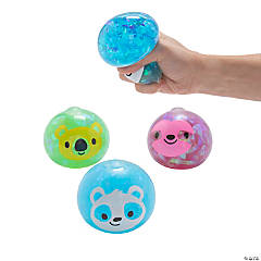 Animal Foil Water Squeeze Balls