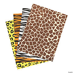 Animal Print Foam Sheets