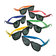 Animal Print Neon Sunglasses