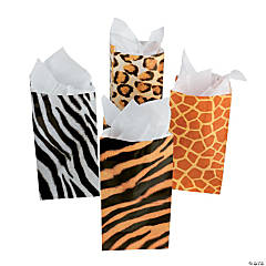 Animal Print Treat Bags