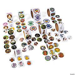 Animal Roll Sticker Assortment