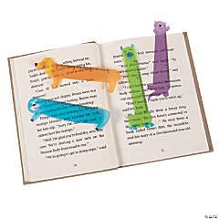 Animal-Shaped Ruler Bookmarks