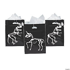 Animal Skeleton Trick-or-Treat Goody Bags