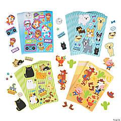 Animal Sticker Sheets Assortment