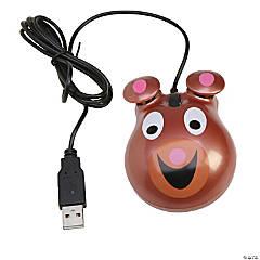 Animal-Themed Computer Mouse, Bear