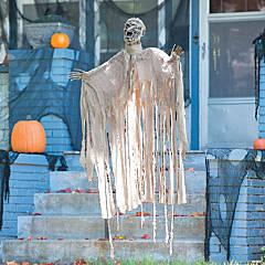 Animated Hanging Mummy Halloween Decoration